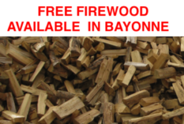 Free Fire Wood Available From Bayonne Public Works