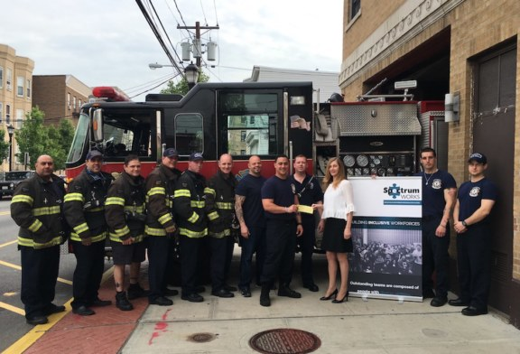 North Hudson Firefighters raise money for Autism Awareness