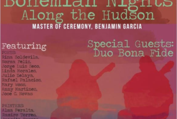 """West New York presents """"Bohemian Nights along the Hudson"""" tonight from 6.30pm to 8.30pm"""