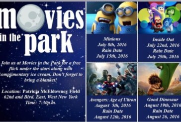 """West New York hosts """"Movies in the Park"""" tonight at 7.30pm"""