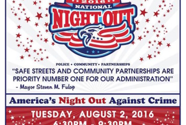 Jersey City Police to Celebrate National Night Out at Four Parks Across the City