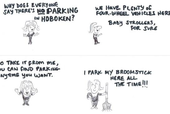 Hoboken Parking? Piece of Cake