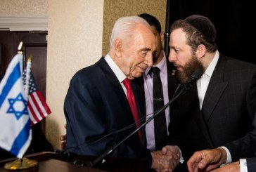 Statement from Ezra Friedlander on the passing of Israel's former President Shimon Peres