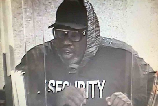 Harrison PD and FBI looking for Bank Robbery Suspect