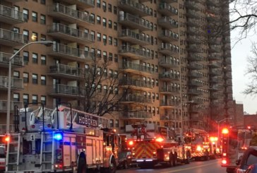 Breaking News: 3-alarm-fire reported at 5601 Boulevard East in West New York