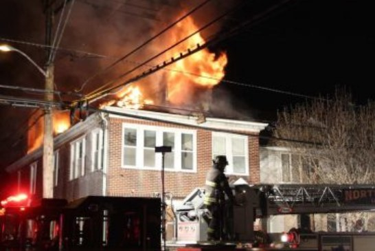 3-Alarm Fire in North Bergen early this Sunday