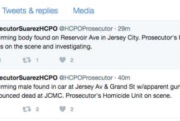 Prosecutor Confirms Two Dead Bodies in Jersey City. One Wrapped in Plastic Bag, Another in a Car Pronounced Dead at JCMC