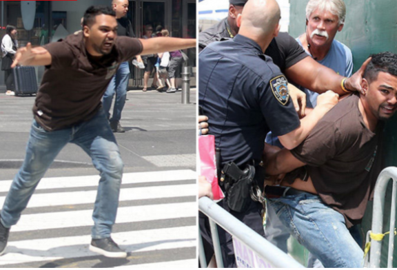 26-year-old Richard Rojas from the Bronx arrested in Times Square Car Crash