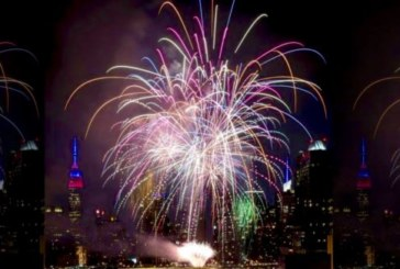 WNYPD: Macy's Fireworks on East River this year, limited to no viewing from Blvd. East and Waterfront