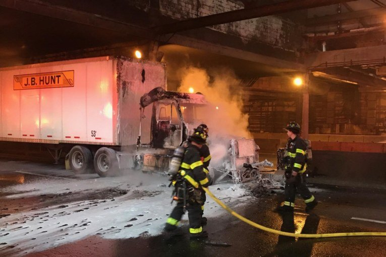 Pet-Cat rescued during 2-alarm fire in West New York this morning