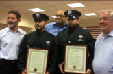 North Bergen Police honor two of their own for Puerto Rico relief efforts