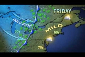 Hudson County NJ Weather, Friday October 26th 2012