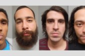 West New York Police Department rounds up four burglary suspects