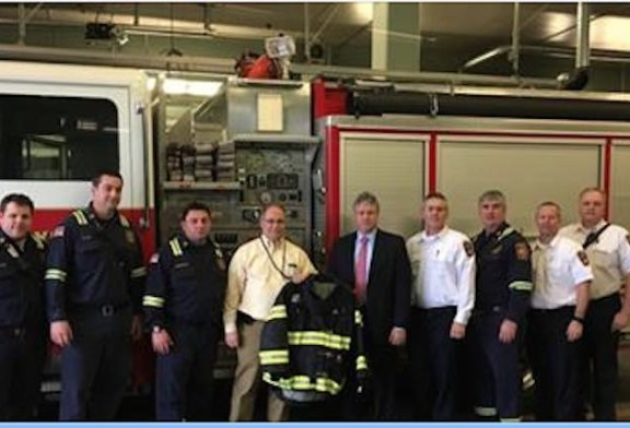 IMTT donation of turnout gear helps firefighters prevent and prepare