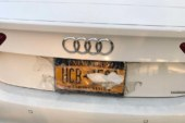 Two Bronx men busted trying to hide license plate with tape to get through GWB Toll Lane