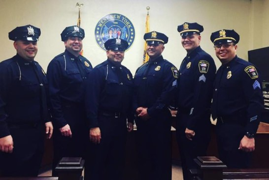 West New York Police Department Promotes Six