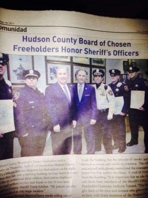 Hudson Sheriff Pay$ Spanish Newspaper To Run Ads in ENGLISH