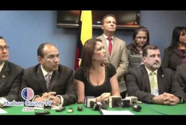 Consul of Ecuador Jessica Escala Press Conference on President Rafael Correa visit to Union City