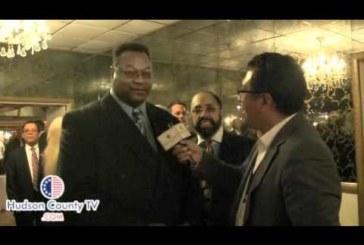 Legendary Boxer Larry Holmes at Felix Roque Fundraiser