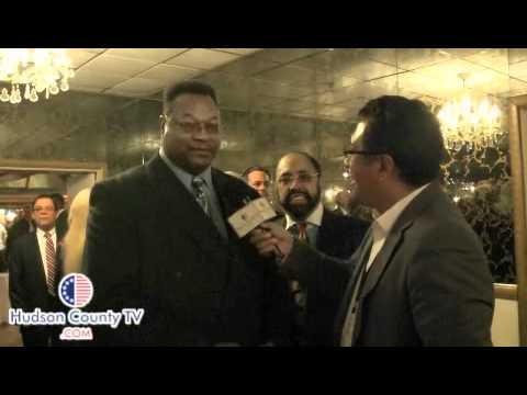 Legendary Boxer Larry Holmes at Felix Roque Fundraiser