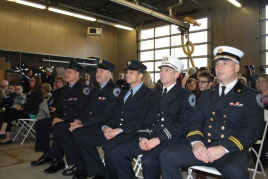 Fire Officer Promotions in North Hudson