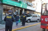 Car crashes into Bergenline building, residents evacuated