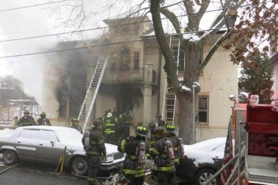 Weehawken 3-Alarm Fire Tears Through Building
