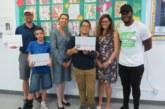 Carepoint Health-HUMC donates Student laptops