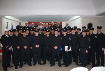North Hudson Regional fire swears in 37 new recruits