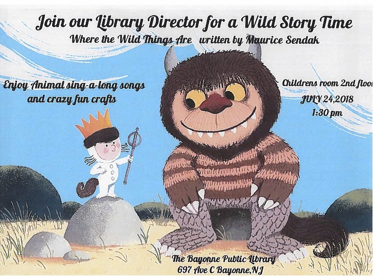 """Library Director to Lead """"Wild"""" Story Time on Tuesday, July"""