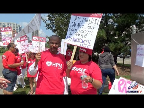 Health Professionals and Allied Employees (HPAE) want fair contract now
