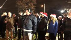North Bergen Kicks Off the Holidays with Tree Lighting Ceremony
