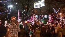 Weehawken Holds Christmas Tree Lighting