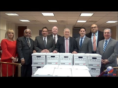 Sacco Team Collects 10,492 Signed Nominating Petitions Totalling more than 52,460 and Counting