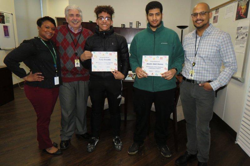 High Tech High School Students Awarded $40,000 Amazon Future
