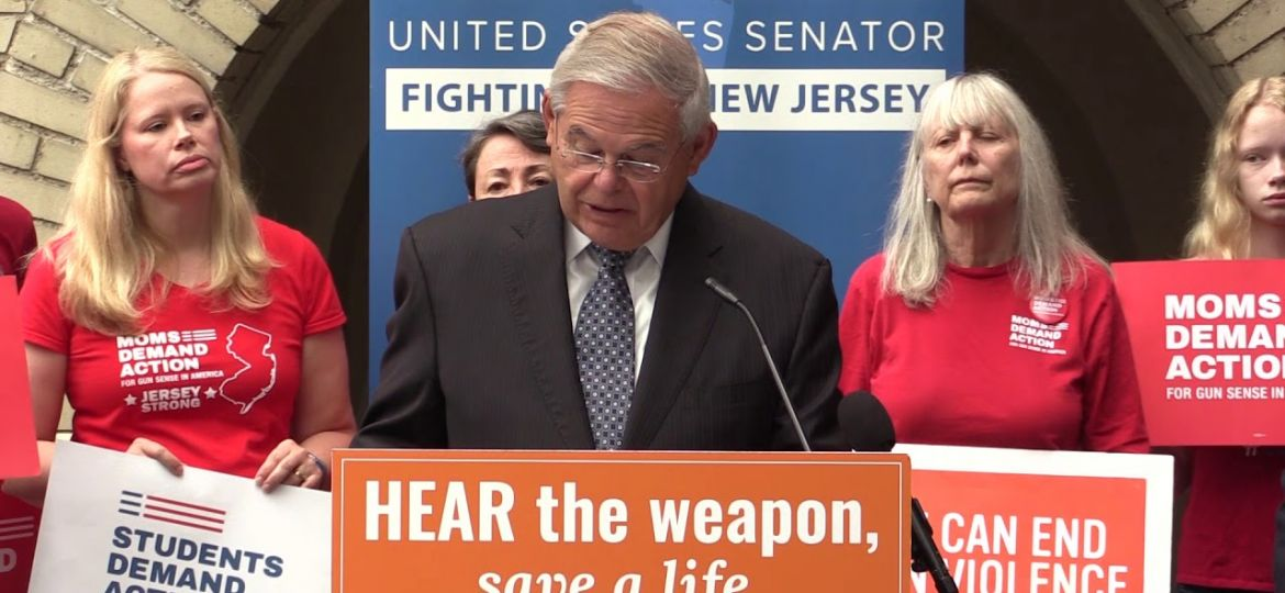 Menendez, Colleagues Introduce Bill to Outlaw Gun Silencers