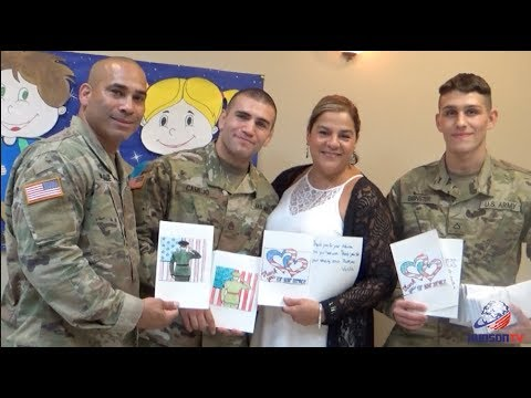 Assemblywoman supports troops 32nd District style