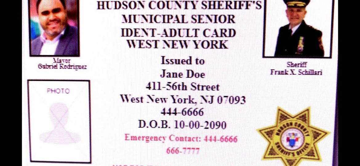 West New York and Hudson County Sheriff Join Forces to Protect and Educate Senior Citizens