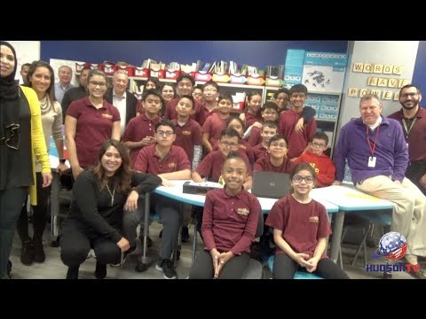 North Bergen Bd of Ed unveils 'Ellen Room,' state-of-the-art media center donated by Ellen DeGeneres