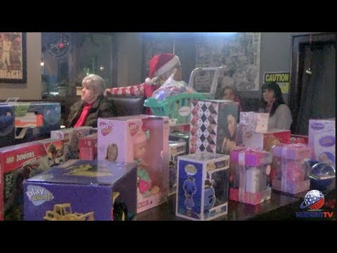 NB CARES makes it December to remember with magical toy drive